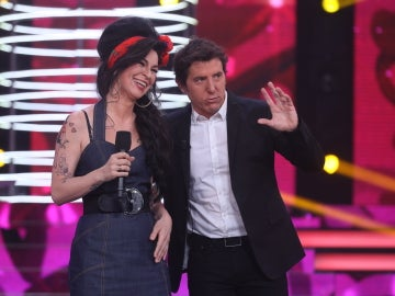 """Miki Nadal, a Rosana: """"Es un regalo que haya gente que imite a Amy como tú"""""""