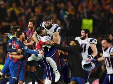 La felicitación de Tom Brady al Barcelona por su remontada