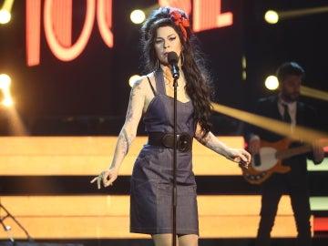 Una Amy Winehouse toledana y su tema 'Back to black' aparece en 'Tu cara no me suena todavía' de la mano de Rosana Gea