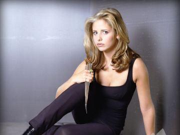 Sarah Michelle Gellar en 'Buffy Cazavampiros'