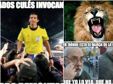 Los mejores 'memes' del Deportivo - Barcelona