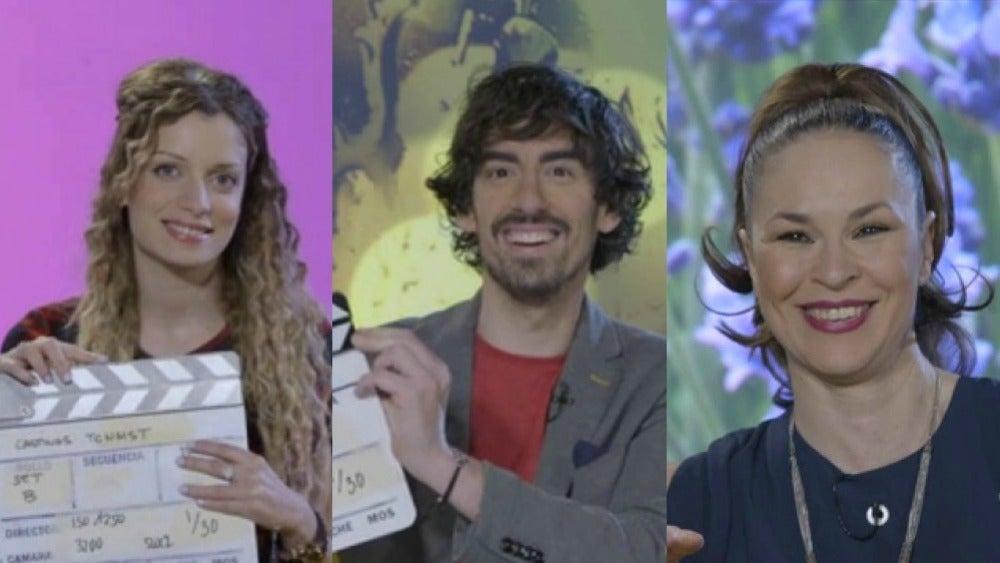 Patricia Aguilar, Nacho Lozano y Rosana Gea