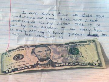 carta de disculpas