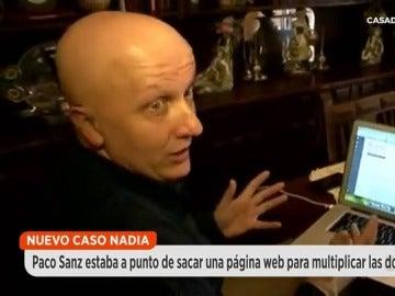 Frame 97.586368 de: Así era el plan secreto de Paco Sanz: lanzar una página web para recibir donaciones