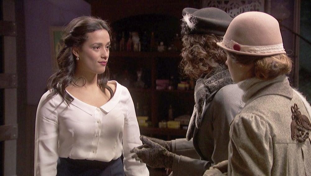 Lucía tendrá una calurosa cita con Nicolás