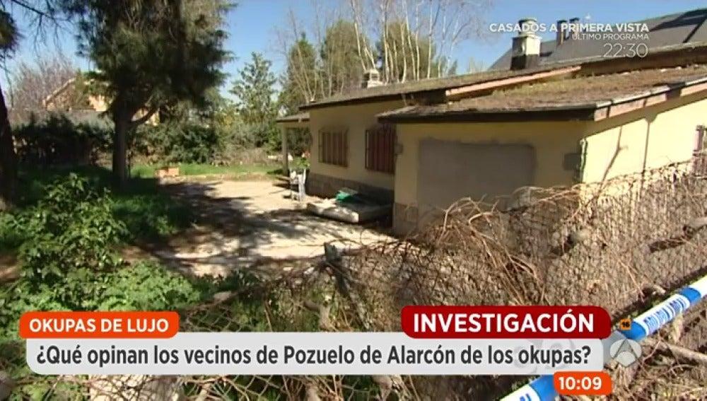 Antena 3 tv los okupas del chalet de lujo de madrid - Chalet de lujo en madrid ...