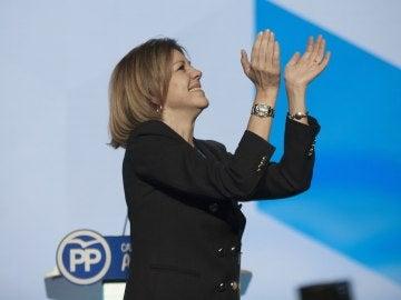 María Dolores de Cospedal, reelegida presidenta del PP de Castilla-La Mancha