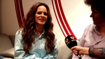 Frame 18.81836 de: Así suena la canción 'Te voy a olvidar' de Malú en la voz de Lorena Fernández