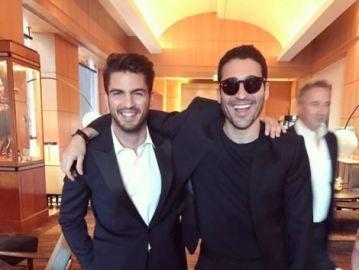 Maxi Iglesias y Miguel Ángel Silvestre juntos