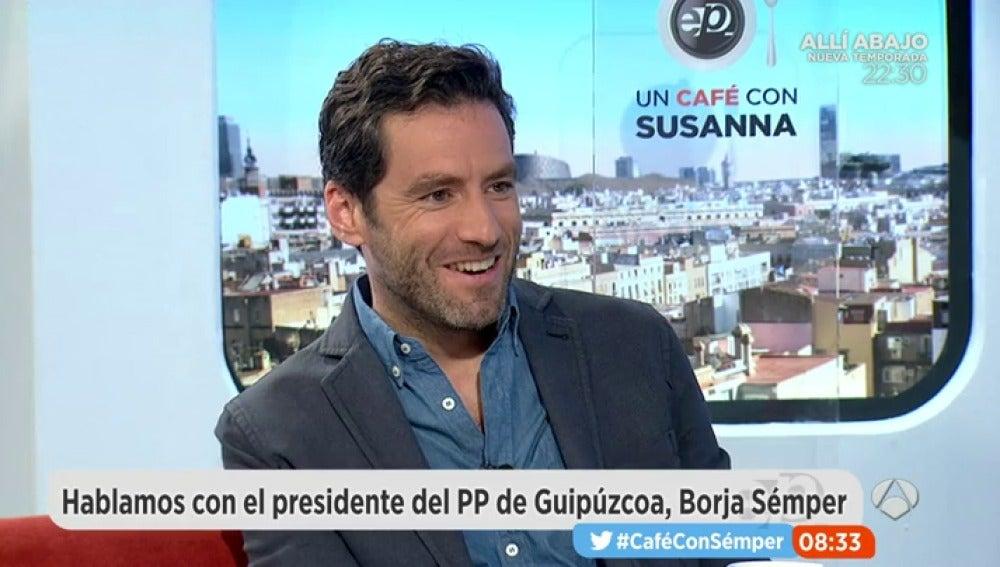 Borja Sémper en Espejo Público