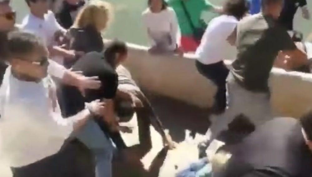 Pelea de padres en un partido en Mallorca