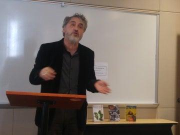 Manuel Rivas cierra su gira por EEUU con una conferencia en la Universidad de Texas