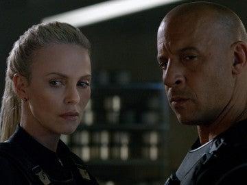 Charlize Theron y Vin Diesel en 'Fast & Furious 8'