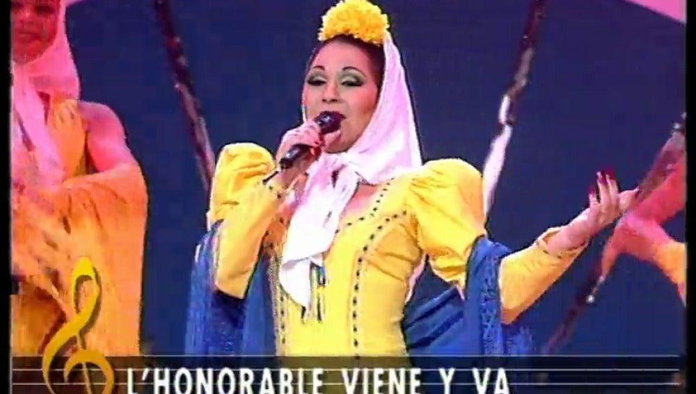 Frame 48.475638 de: Crítica política en 'La Parodia Nacional' a ritmo de pasodoble