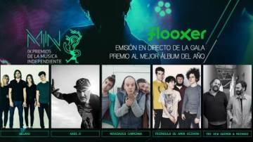 Flooxer presenta la IX edición de los Premios de la Música Independiente (MIN)