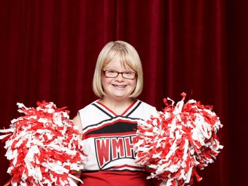 Lauren Potter en 'Glee'
