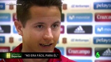 """Frame 27.94 de: Ander Herrera: """"Ojalá De Gea se quede en el United, pero en el fútbol sabemos que todo puede cambiar"""""""