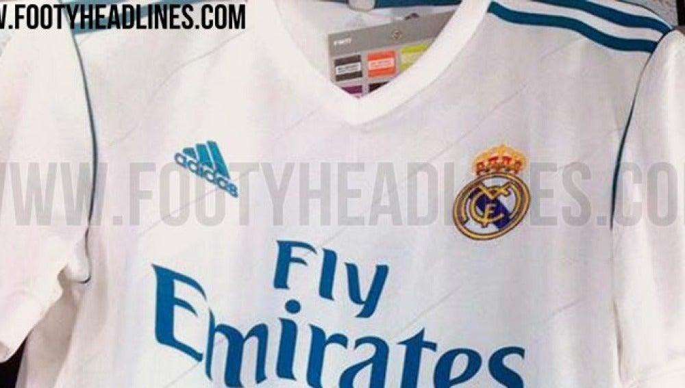 Se filtra la camiseta del Real Madrid para la temporada 2017 2018 ... 1def673b42e8c