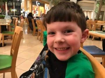John Bruno, el niño de cinco años que ha fallecido a causa de un estrangulamiento