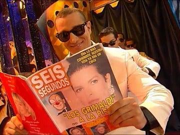 Frame 23.635812 de: 'La Parodia Nacional' hacía el repaso más divertido a las revistas del corazón