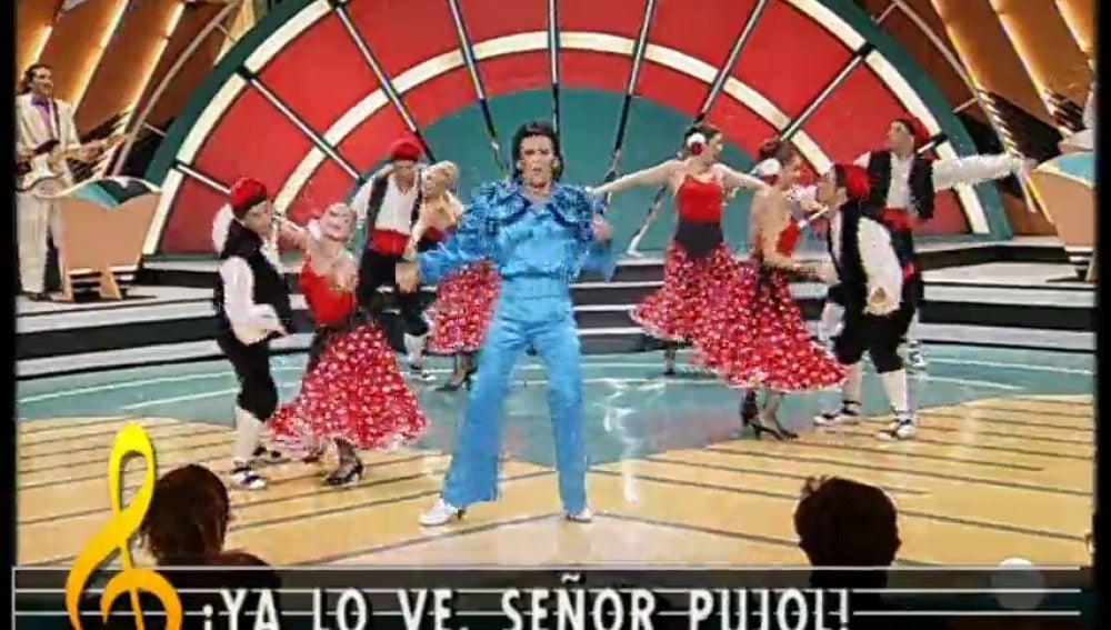 Frame 58.917738 de: Jordi Pujol protagonizó la crítica política de 'La Parodia Nacional'