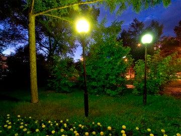 El parque de Komsomolsk del Amur