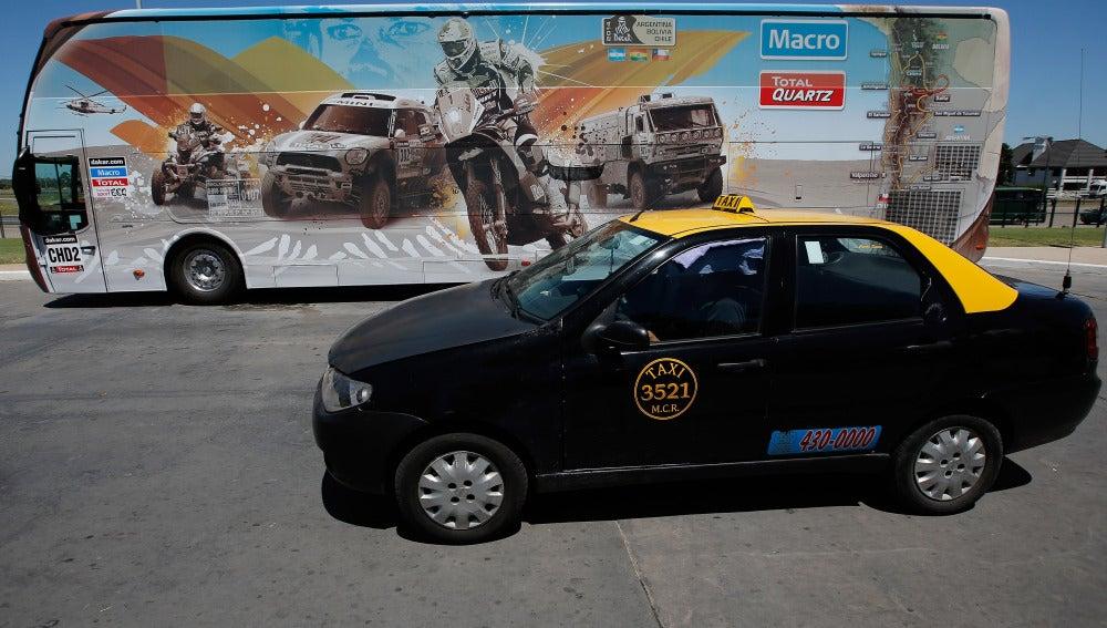 Un taxi de Argentina