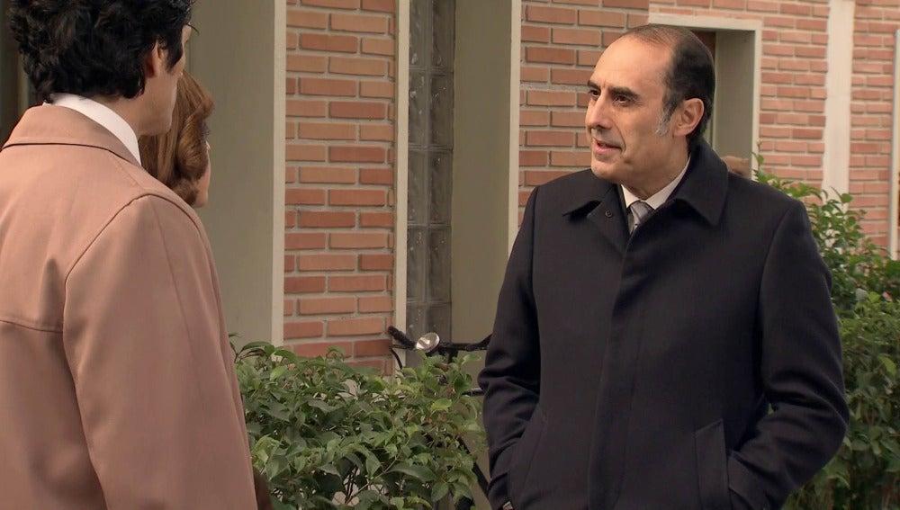 Nuria quiere acabar con el inspector Yuste