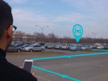Frame 17.256918 de: Encontrar el coche ahora es más fácil gracias a la nueva función de Google Maps