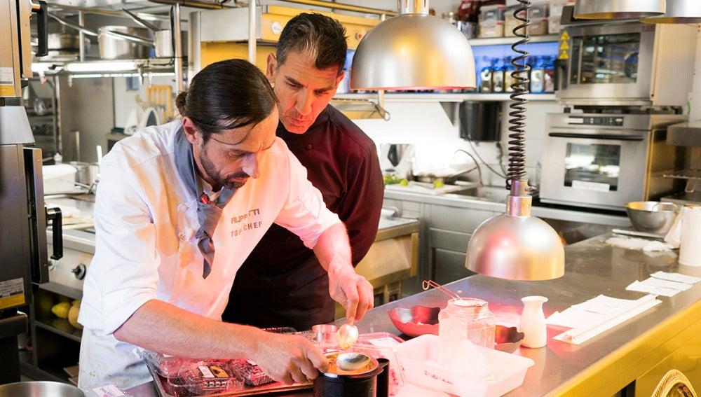 Montoro, el chef que ha rescatado el postre desastre de Filippetti