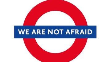 'No tenemos miedo', las redes se vuelcan con los británicos