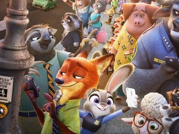 Fotograma de 'Zootrópolis'