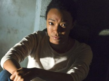 Sonequa Martin-Green en 'The Walking Dead'