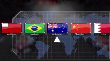 Horarios GP de Australia F1