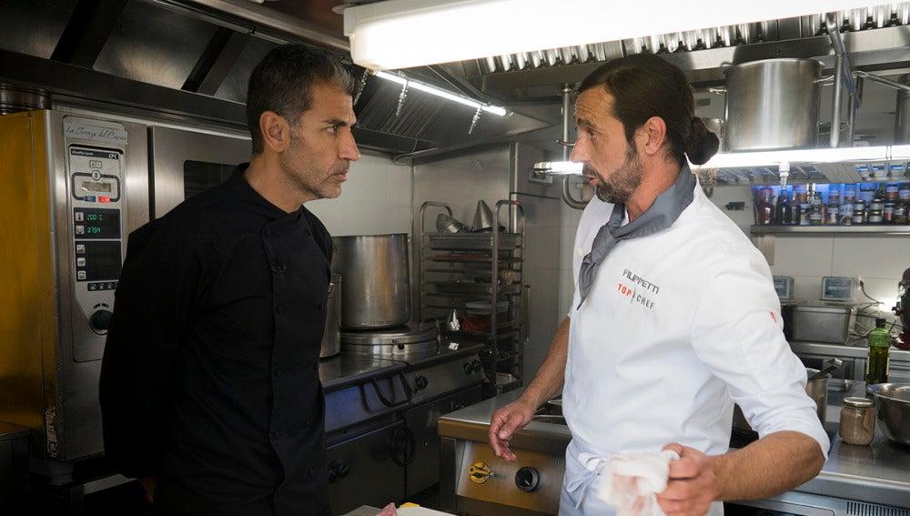 Las cocinas de Paco Roncero dirigidas por un jefe demasiado débil