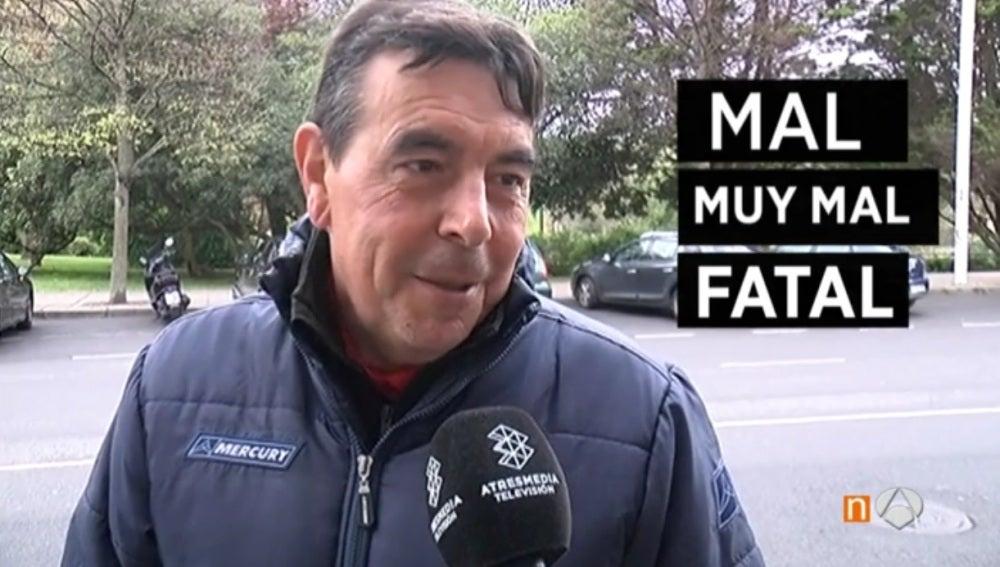 La afición de Gijón indignada con la Selección