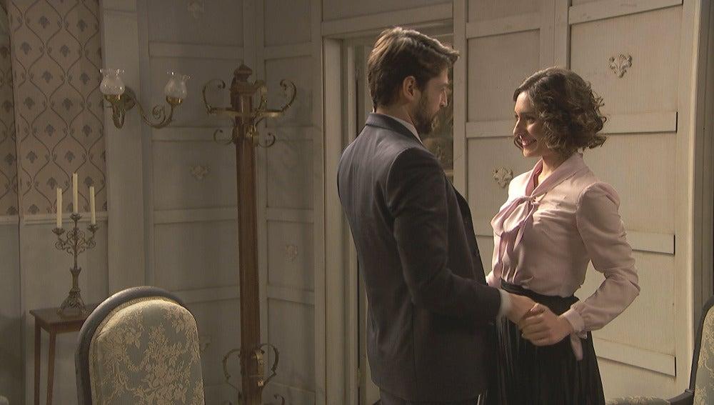 Camila y Hernando se prometen amor eterno