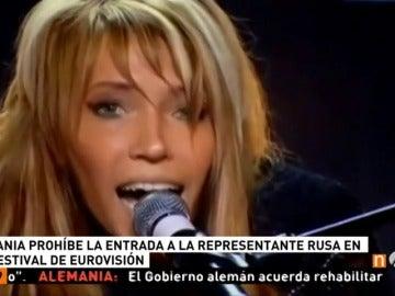 Frame 28.769555 de: Ucrania veta a la representante de Rusia en Eurovisión