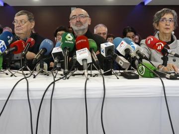 Mediadores implicados en el desarme de ETA