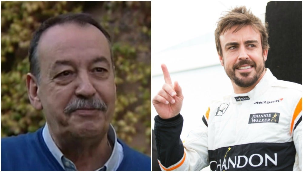 Joan Villadelprat y Fernando Alonso