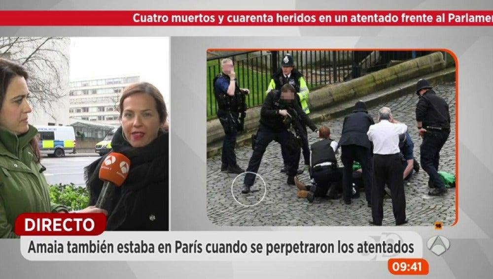 Frame 135.691111 de: Una de las testigos del atentado de Londres: