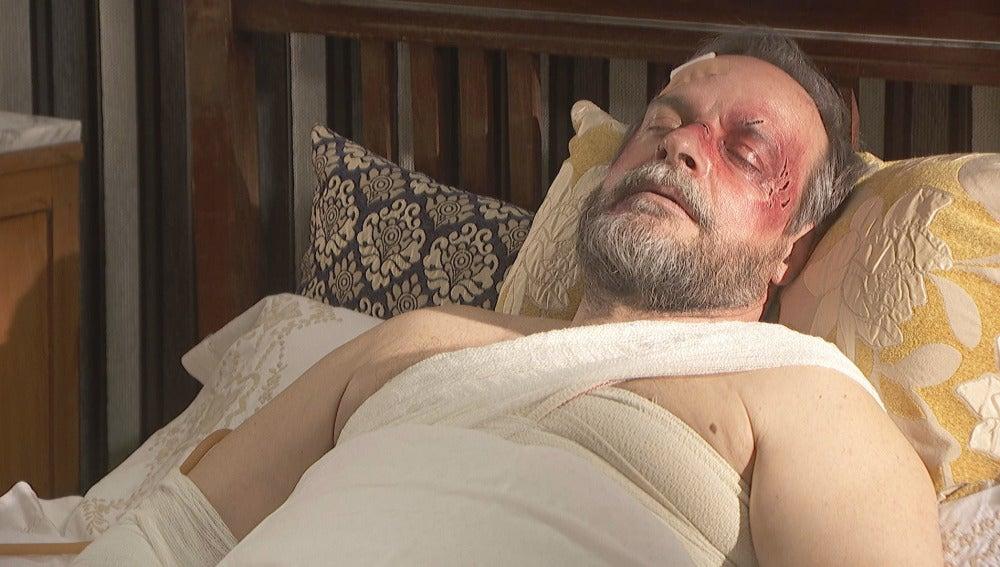 Raimundo regresa vivo pero muy mal herido