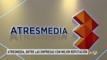 Frame 19.823074 de: Atresmedia, el grupo audiovisual con mejor reputación, por segundo año consecutivo según el 'Estudio RepTrak España 2017'