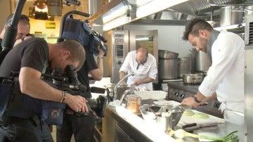 Vivimos tras las cámaras la intensa guerra de restaurantes