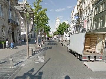 Calle Meir, donde un conductor ha intentado arroyar a un grupo de personas