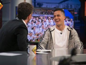 Lucas Vázquez cuenta la verdad detrás de los malabares de la suerte en el penalti de la final de la Champions