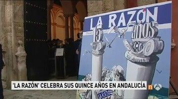 Frame 2.451428 de: La Razón en Andalucía celebra en el Real Alcázar de Sevilla su XV aniversario