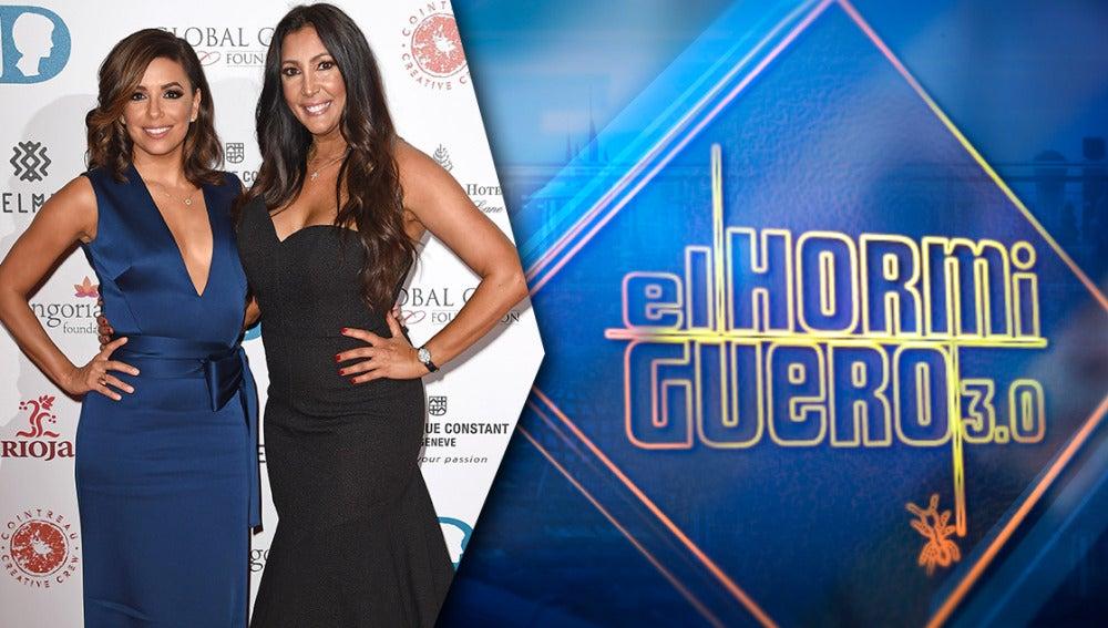 Eva Longoria y su amiga María Bravo, se divertirán en 'El Hormiguero 3.0'