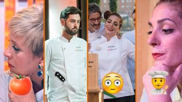 Paladares exigentes, cuchillos que vuelan y un matrimonio, los momentazos de 'Top Chef'