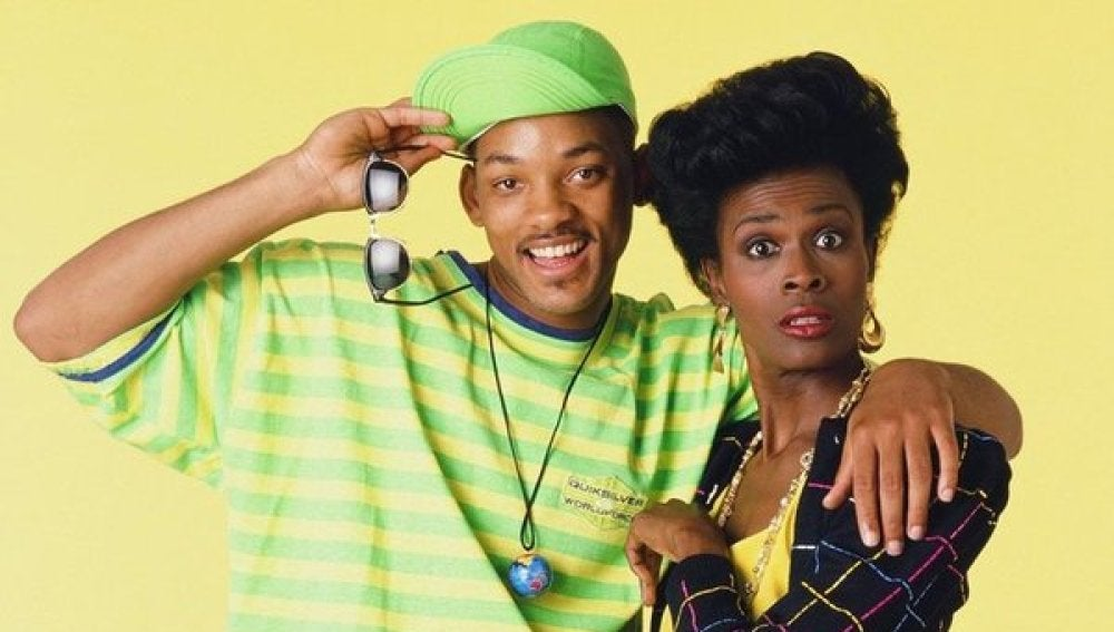 Janet Hubert y Will Smith